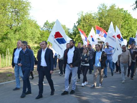 Naprednjaci u kampanji FOTO: G. Mitić/OK Radio