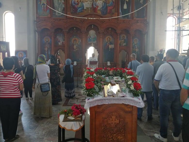 Liturgija u gradskoj crkvi. Foto: S.Tasić/OK Radio
