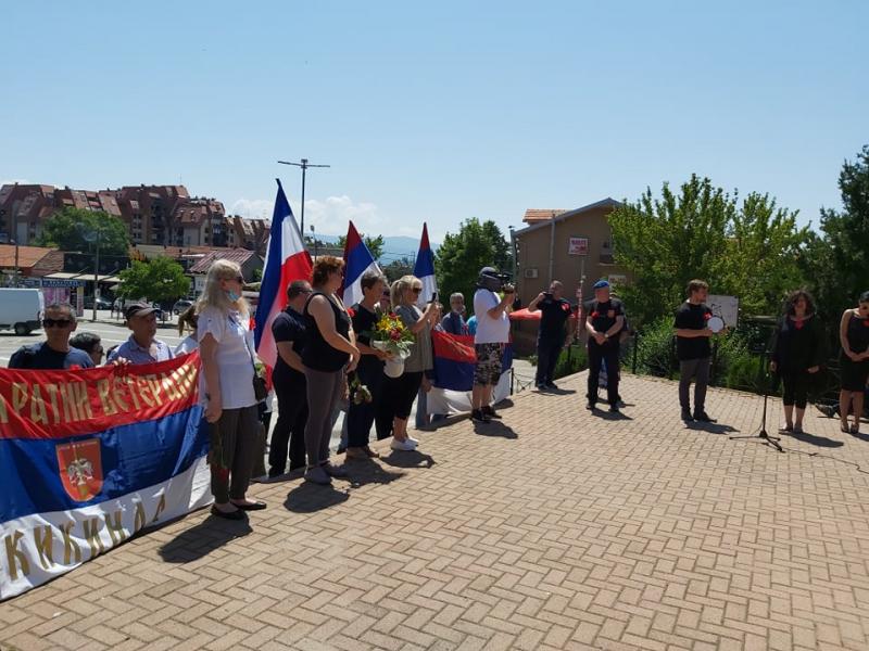 Veterani iz Vranja i Kikinde i njihove porodice. Foto: OK Radio