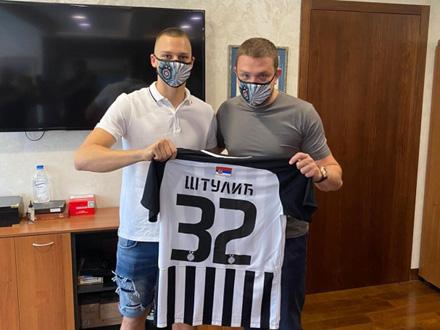 Nikola Štulić, talentovani napadač iz klase 2001 FOTO. FK Partizan