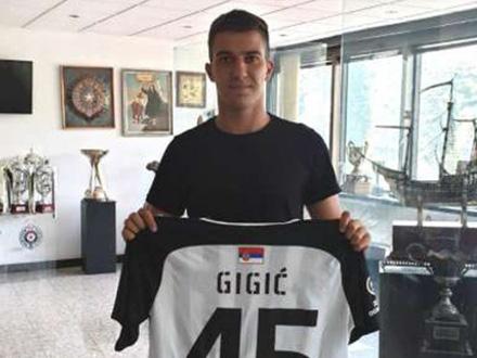 Potpisao je ugovor sa Ujpeštom FOTO: FK Partizan