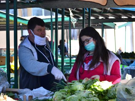 Zelene pijace ostaju otvorene radnim danima FOTO: G. Mitić/OKRadio