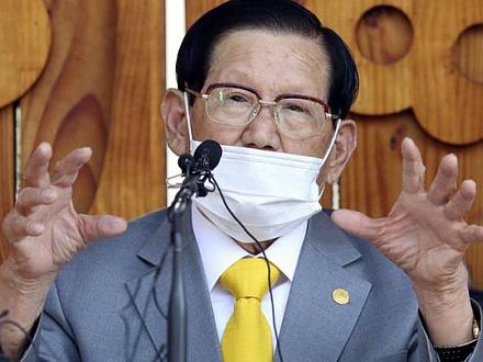 Li Man-he, uticajan lider Šinćeonji Isusove crkve FOTO: AP