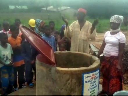 Usrećili seljane u Togou FOTO: Screenshot