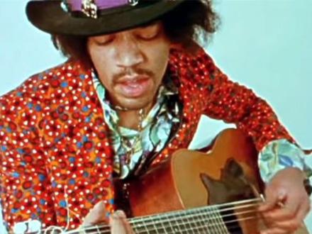 Hendriks je počeo da svira na ovoj japanskoj gitari FOTO: Screenshot