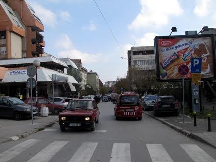 Nezgoda se dogodila u Lenjinovoj ulici FOTO: D. Ristić/OK Radio
