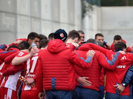 Zvezda je bez primljenog gola FOTO: FK Crvena zvezda