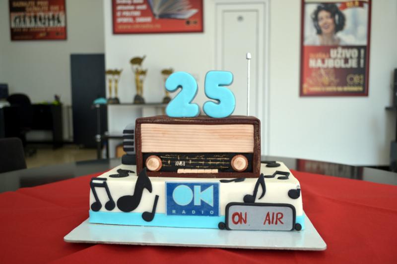 Četvrt veka objektivnog informisanja i kvalitetne zabave FOTO: OK Radio
