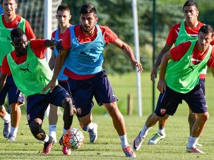 Najverovatnije ne putuju u Jermeniju FOTO: FK Crvena zvezda