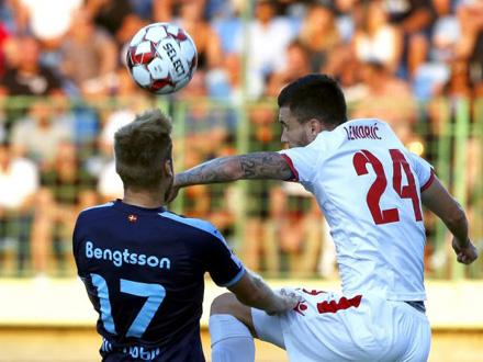 Fudbalski savez odbio da odloži utakmicu FOTO: EPA-EFE/Fehim Demir