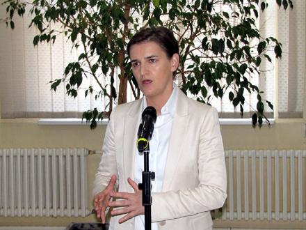 Brnabić u sredu predstavlja kabinet i ekspoze FOTO: D. Ristić/OK Radio