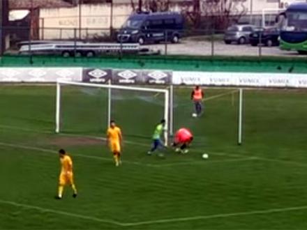 Kiks Orlića koji je presudio utakmicu FOTO: Screenshot