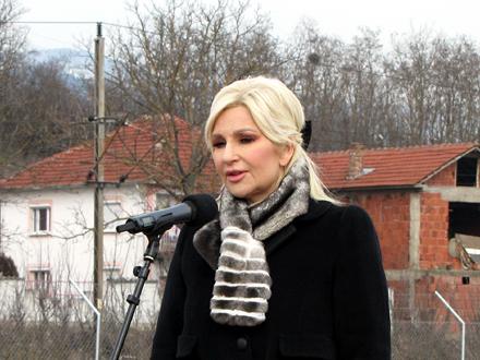 """Mihajlović je navela da """"imena ovde nisu važna"""" FOTO: D. Ristić/OK Radio"""