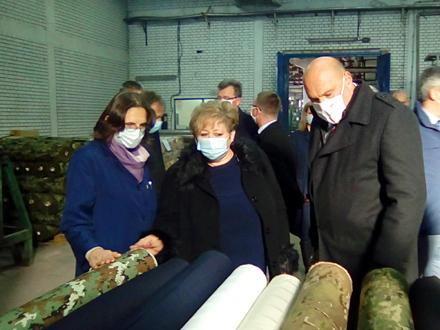 Ministarka Atanasković tokom posete