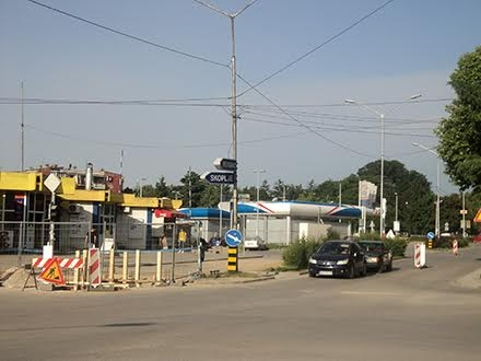 Biće rekonstruisana i raskrsnica kod Autobuske stanice FOTO: S.Tasić/OK Radio