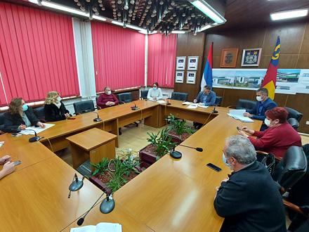 Sa današnjeg sastanka FOTO: vranje.org.rs