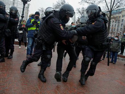 Uhapšeno oko 200 ljudi FOTO: Reuters