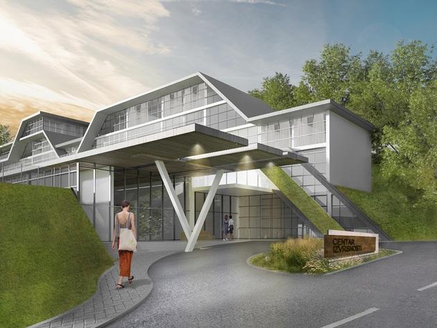 Budući izgled Centra izvrsnosti u Vranju FOTO: Atelje Gea
