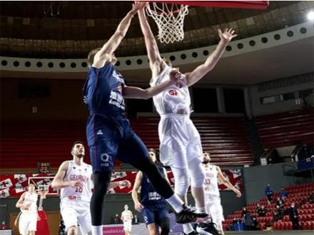 Slavlje u pretposlednjem kolu kvalifikacione Grupe E FOTO: Košarkaški savez SRB