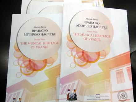 Monografija nudi obuhvatan pregled bogate muzičke tradicije Vranja FOTO: G. Mitić/OK Radio