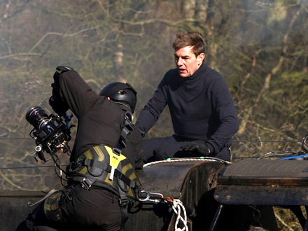 Tom Kruz spasao je snimatelja pada sa voza FOTO: Profimedia
