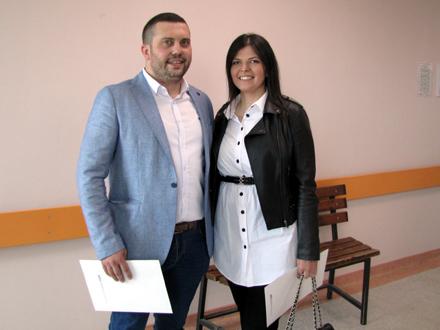 Marko Ivančov i Hristina Spasić FOTO: D. Ristić/OK Radio