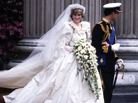 Kraljevsko venčanje 1981. godine FOTO: Getty Images