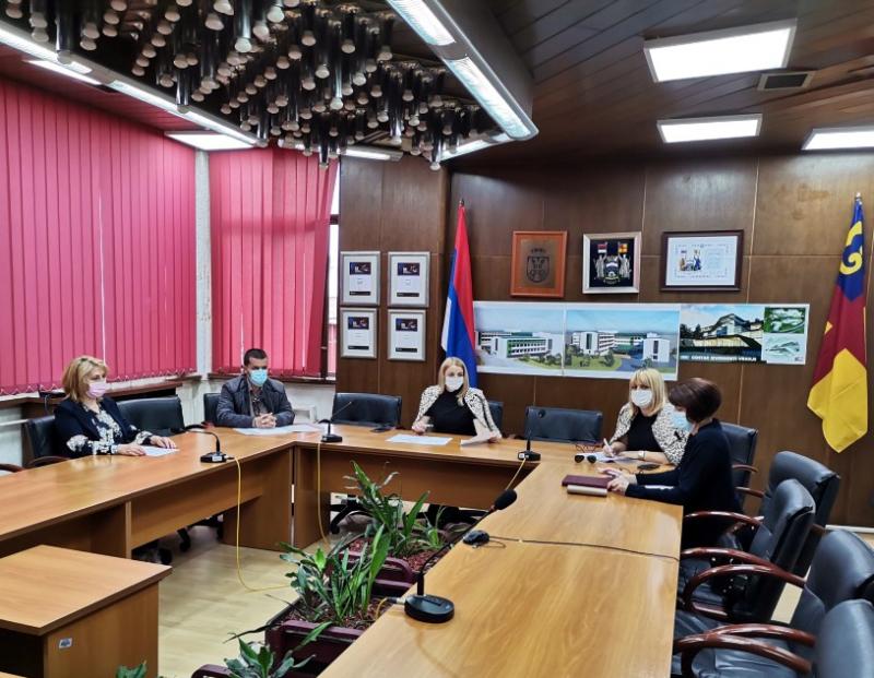 Sastanak Organizacionog odbora FOTO: vranje.org.rs