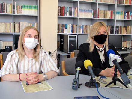 Zorica Jović i Suzana Mišić Stanković FOTO: D. Ristić/OK Radio