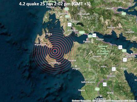 Na stotine potresa poslednjih dana FOTO: Quakemap
