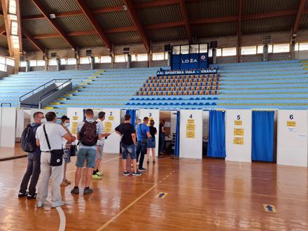 Povećano interesovanje mladih za vakcinaciju FOTO: ZC Vranje