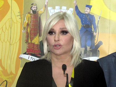 Zorana Mihajlović u Vranju FOTO: D. Ristić/OK Radio