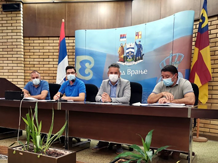 Neophodna brza i kvalitetna koordinacija FOTO: vranje.org.rs
