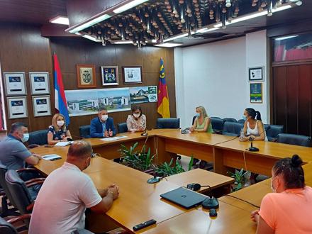 Sledi sastanak sa vranjskim privrednicima FOTO: vranje.org.rs