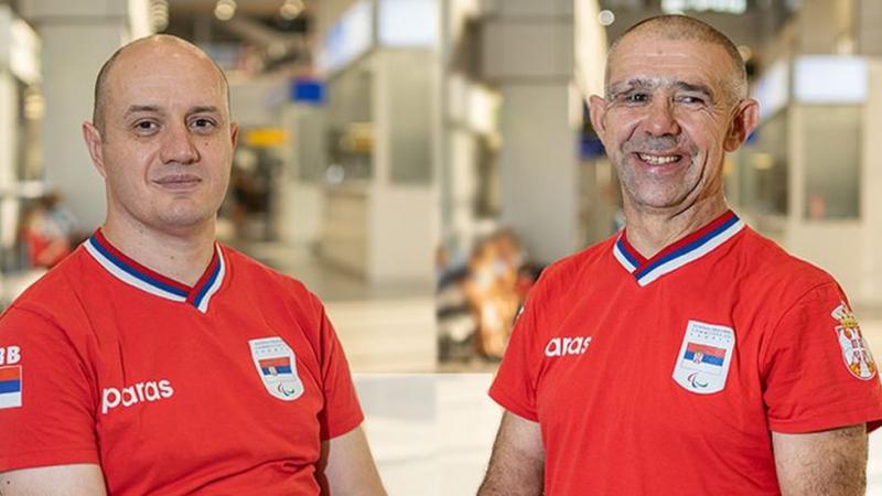 Ristić i Savanović FOTO: Paraolimpijski komitet Srbije