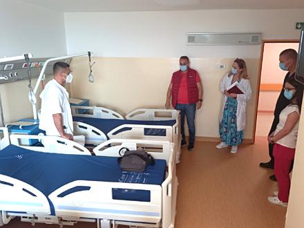 Kreveti već stavljeni u funkciju FOTO: ZC Vranje