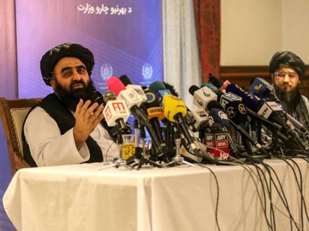 Amir Kan Mutaki, talibanski ministar spoljnih poslova FOTO: EPA-EFE