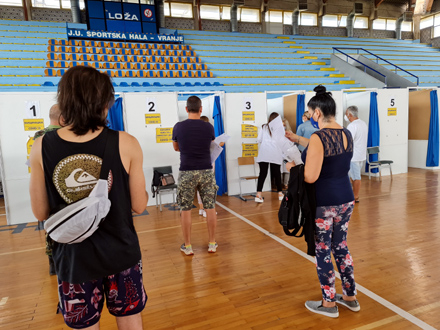 Želele potvrde, a ne vakcine FOTO: ZC Vranje