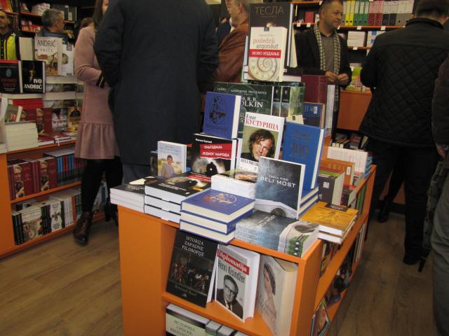 Otvaranje knjižare Službenog glasnika
