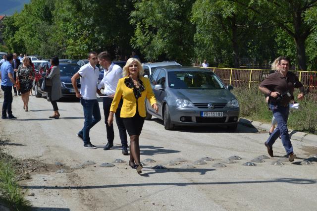 Poseta ministarke Zorane Mihajlović