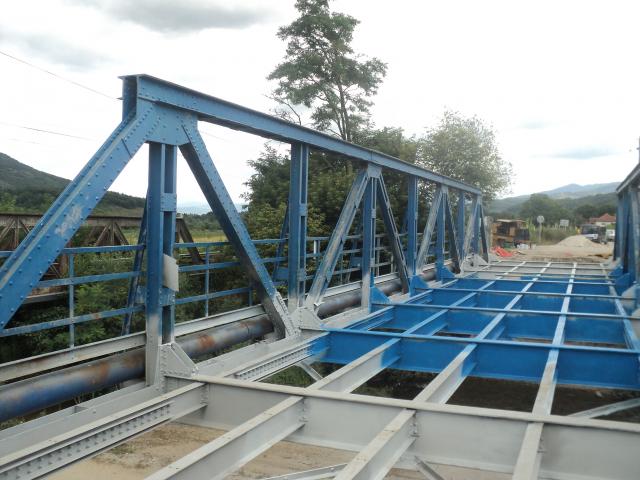Vranjska Banja radovi na mostu