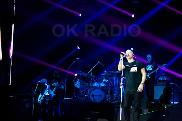 OK RADIO na koncertu Erosa