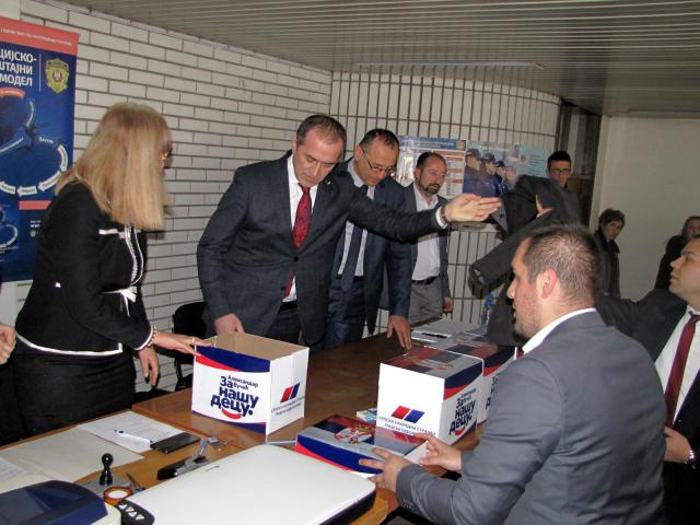 SNS predaja odborničke liste za lokalne izbore 2020.