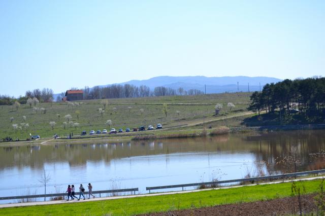 Aleksandrovačko jezero tokom vanrednog stanja