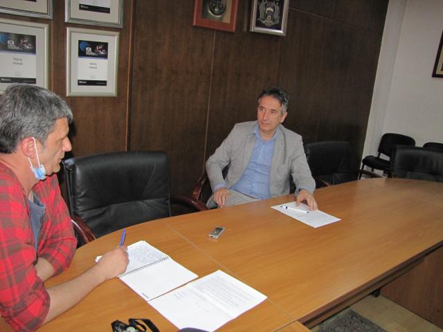 Intervju sa gradonačelnikom Slobodanom Milenkovićem