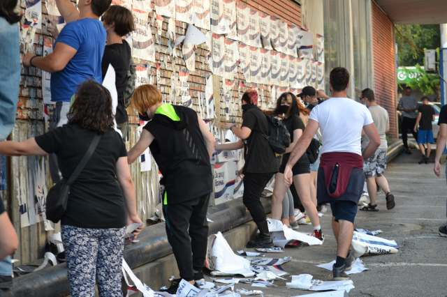 Narodni protest - Vranje