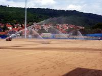 Novi travnati tepih na Gradskom stadionu u Surdulici