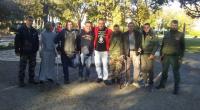 Borci u Pionirskom parku