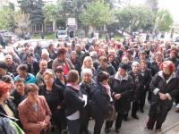Protest radnika fabrike Koštana