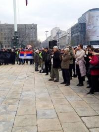 Veterani, protest, Beograd